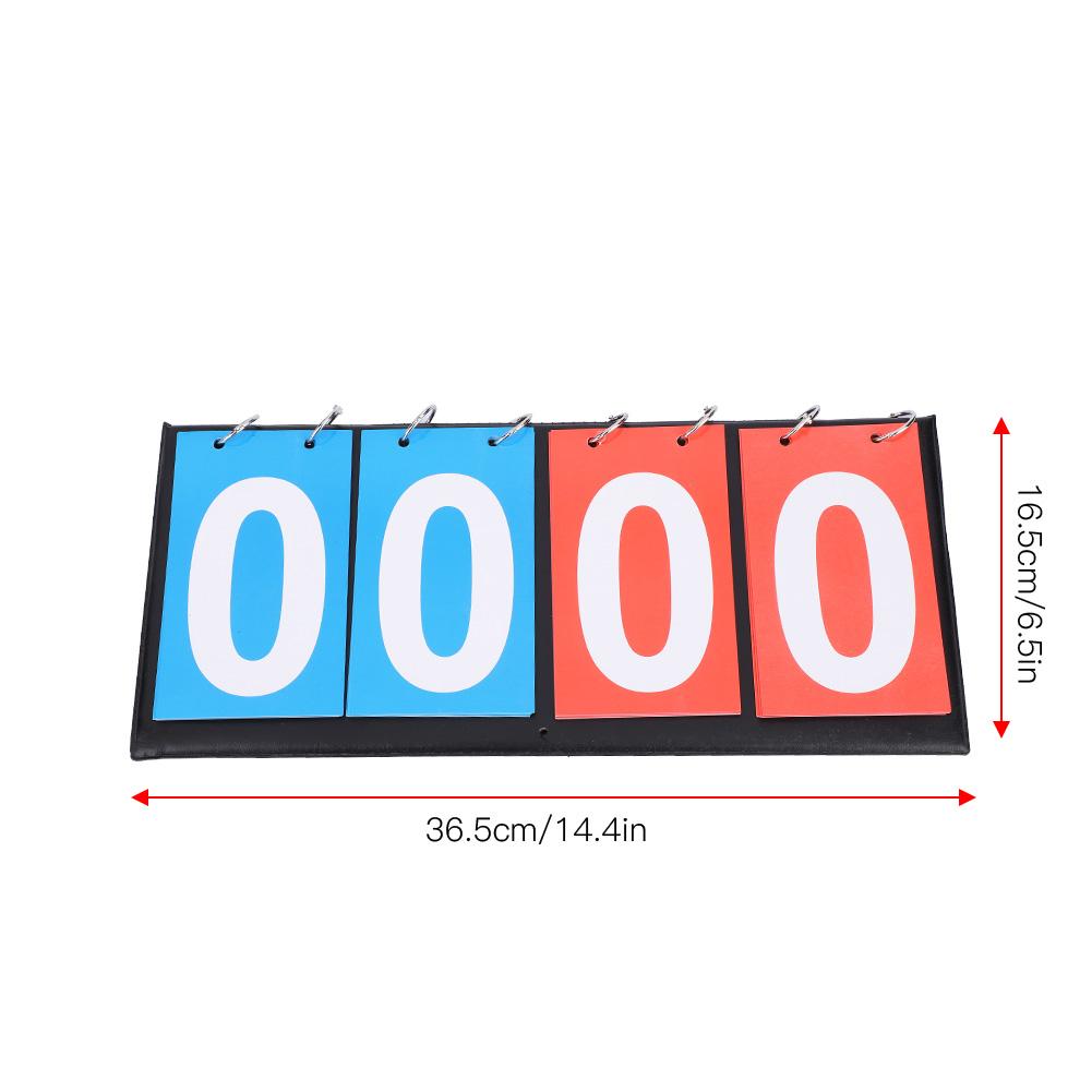 Portable-Flip-Sports-Scoreboard-Score-Counter-for-Table-Tennis-Basketball thumbnail 36