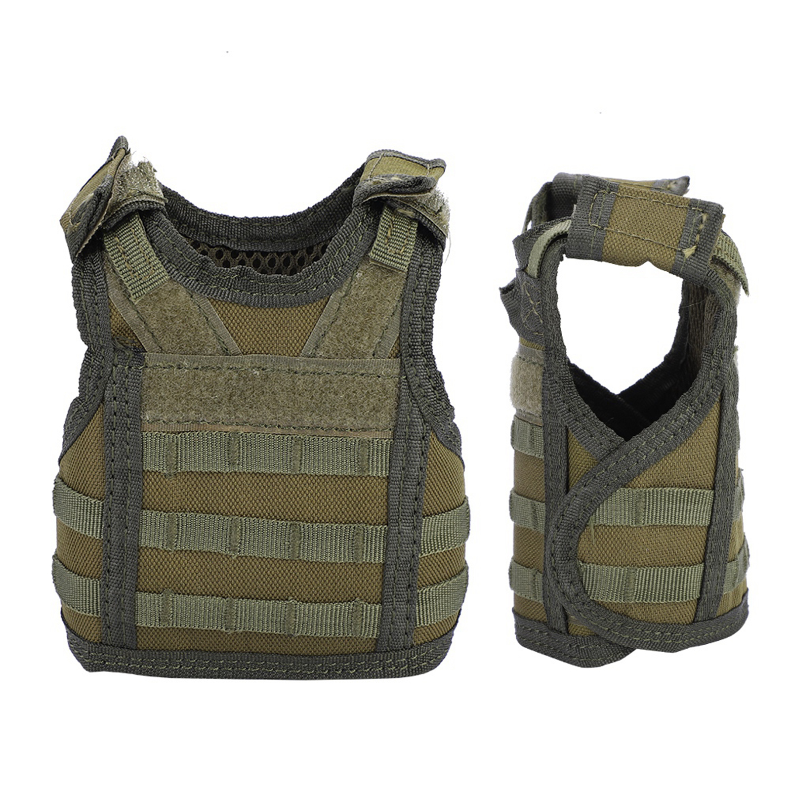 Mini-Military-Tactic-Beer-Water-Bottle-Can-Vest-Carrier-Holder-Beverage-Cover thumbnail 13