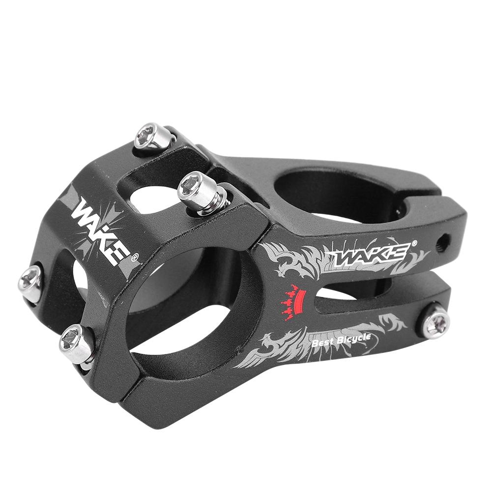 WAKE Aluminum Alloy Handlebar Stems MTB Road Bike Short Bar Stem 31.8*40mm