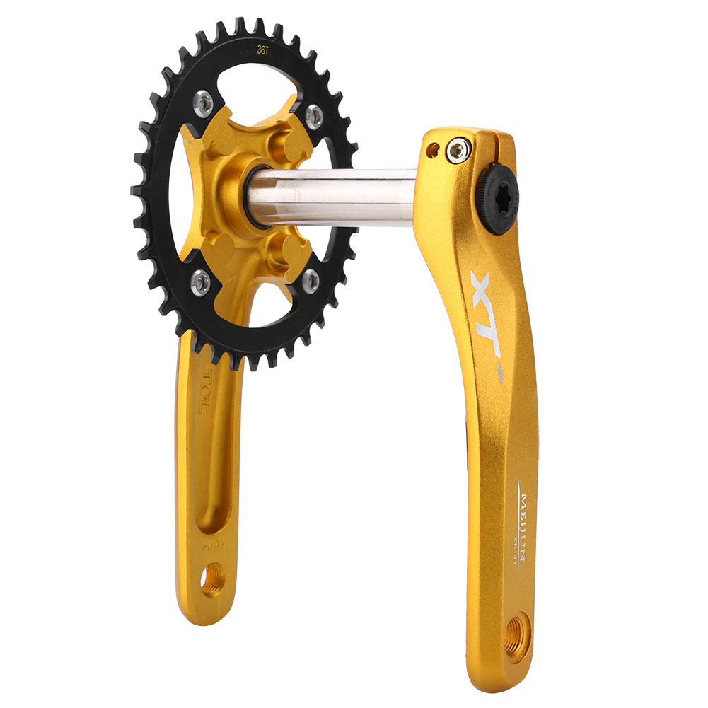 Andel Single Speed//track Crankset Non Fluted 144 BCD 170mm