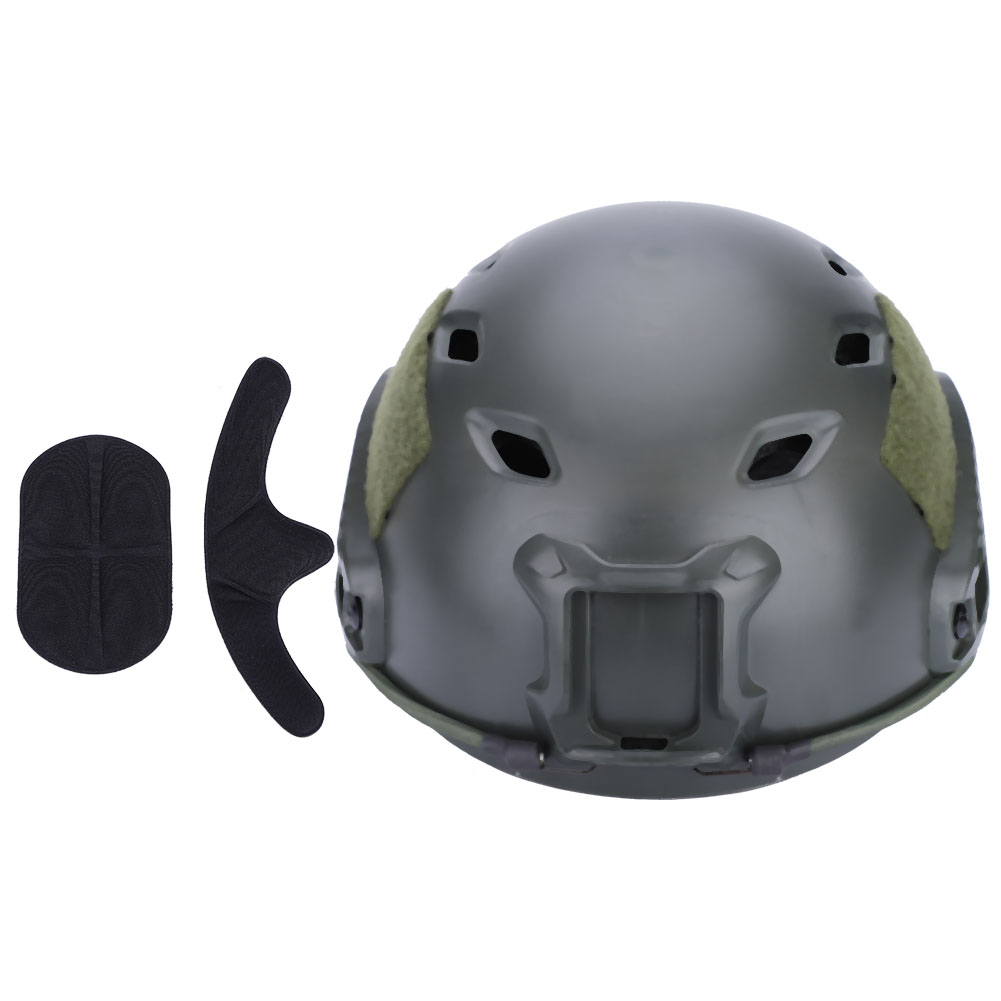 Military-Tactical-Protective-Fast-Helmet-Airsoft-Paintball-Riding-Duty-Headwear thumbnail 35