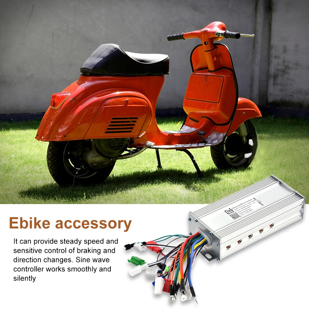 24-36-48V-800W-Brushless-Motor-Speed-Controller-Electric-Bicycle-E-bike-Scooter thumbnail 17