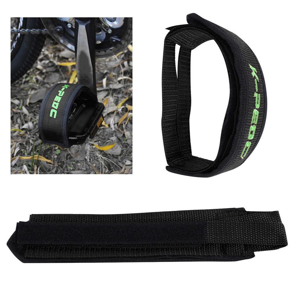 1-Pair-Fixed-Gear-Road-Bike-Bicycle-Cycling-Adhesive-Pedal-Toe-Clip-Strap-Belt thumbnail 10