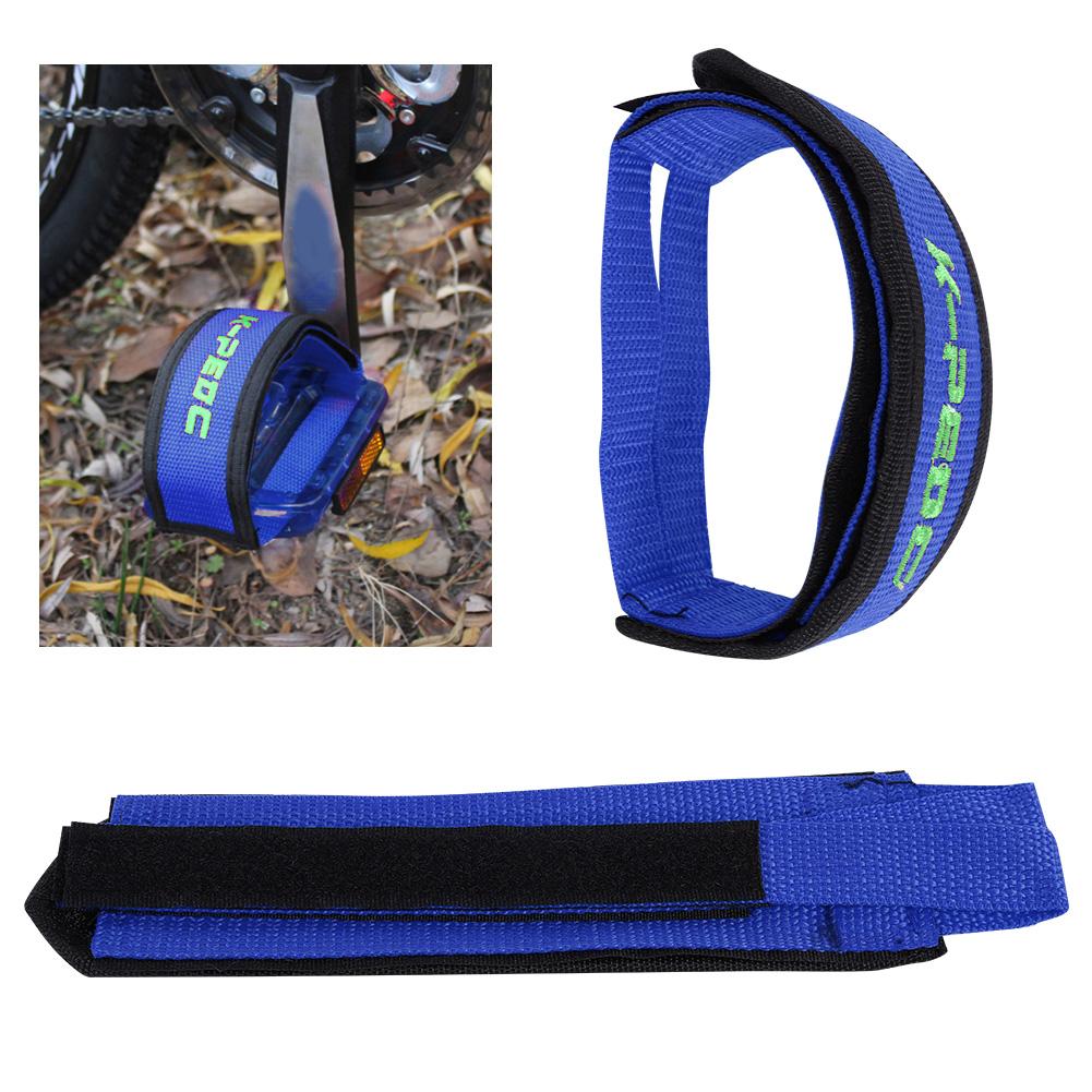 1-Pair-Fixed-Gear-Road-Bike-Bicycle-Cycling-Adhesive-Pedal-Toe-Clip-Strap-Belt thumbnail 16