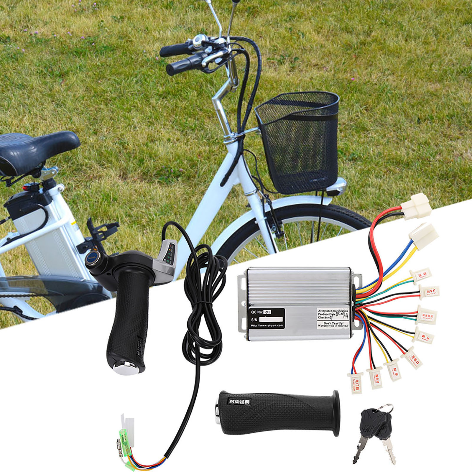 500W-1000W-Motor-Brushed-Speed-Controller-Box-for-Electric-Bicycle-amp-Scooter-Bike thumbnail 24