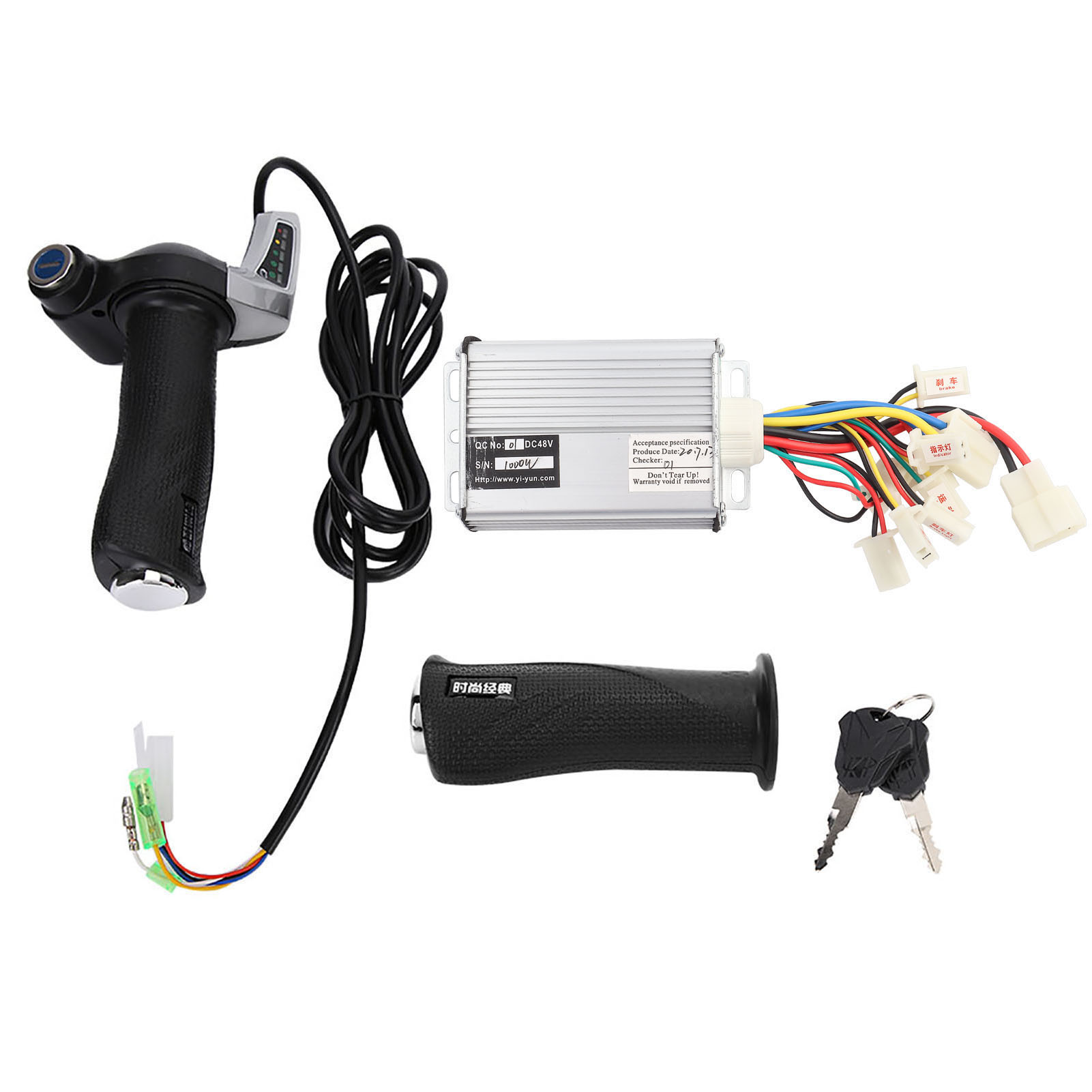 500W-1000W-Motor-Brushed-Speed-Controller-Box-for-Electric-Bicycle-amp-Scooter-Bike thumbnail 26