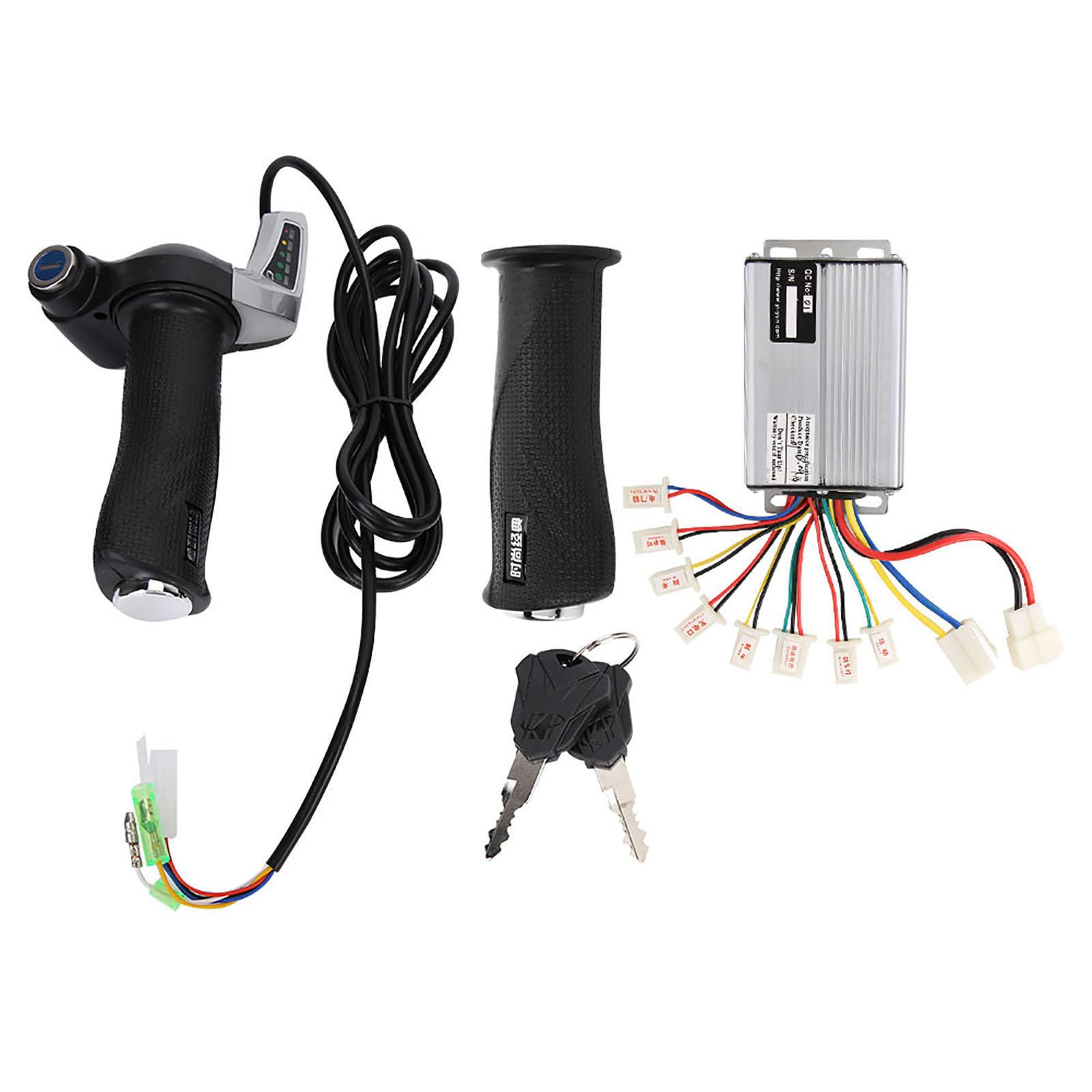 500-1000W-24-36-48V-Motor-Brush-Speed-Controller-Box-For-E-bike-Scooter-W-Lock thumbnail 27