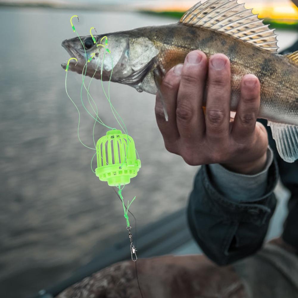 Explosion-Hook-Cage-Fishing-Tackle-Sea-Box-Hook-Anti-hanging-Bottom-Bomb-Hook thumbnail 18