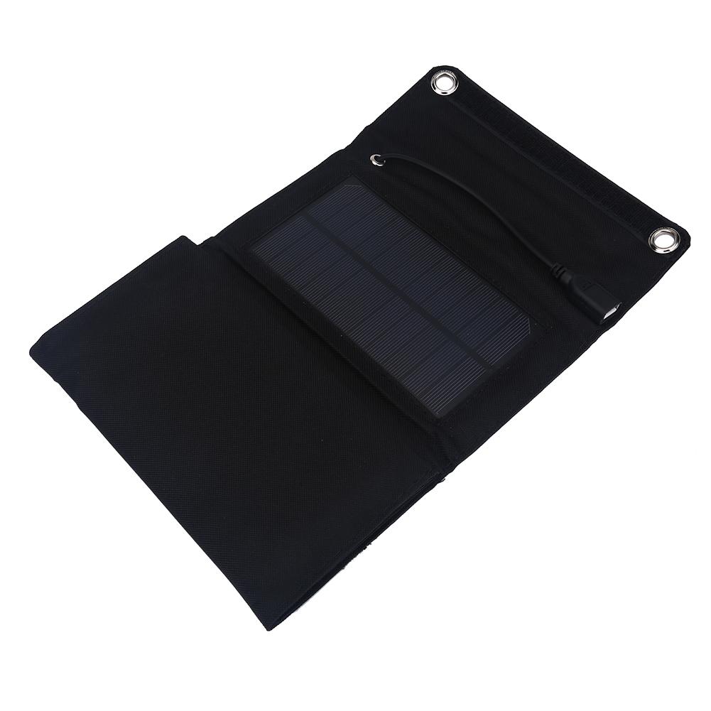 Pannello Solare Portatile Pieghevole : Portatile caricabatteria solare kit pieghevole w pannello