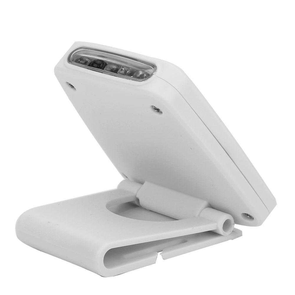lightweight led usb rechargeable headlamp flashlight clip. Black Bedroom Furniture Sets. Home Design Ideas