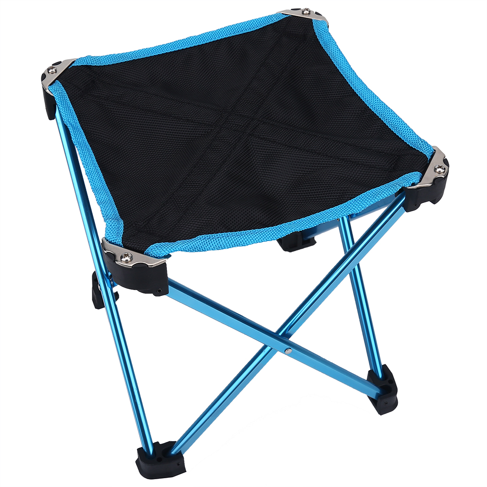 Mini Alloy Folding Stool Chair Outdoor Foldable Chair For