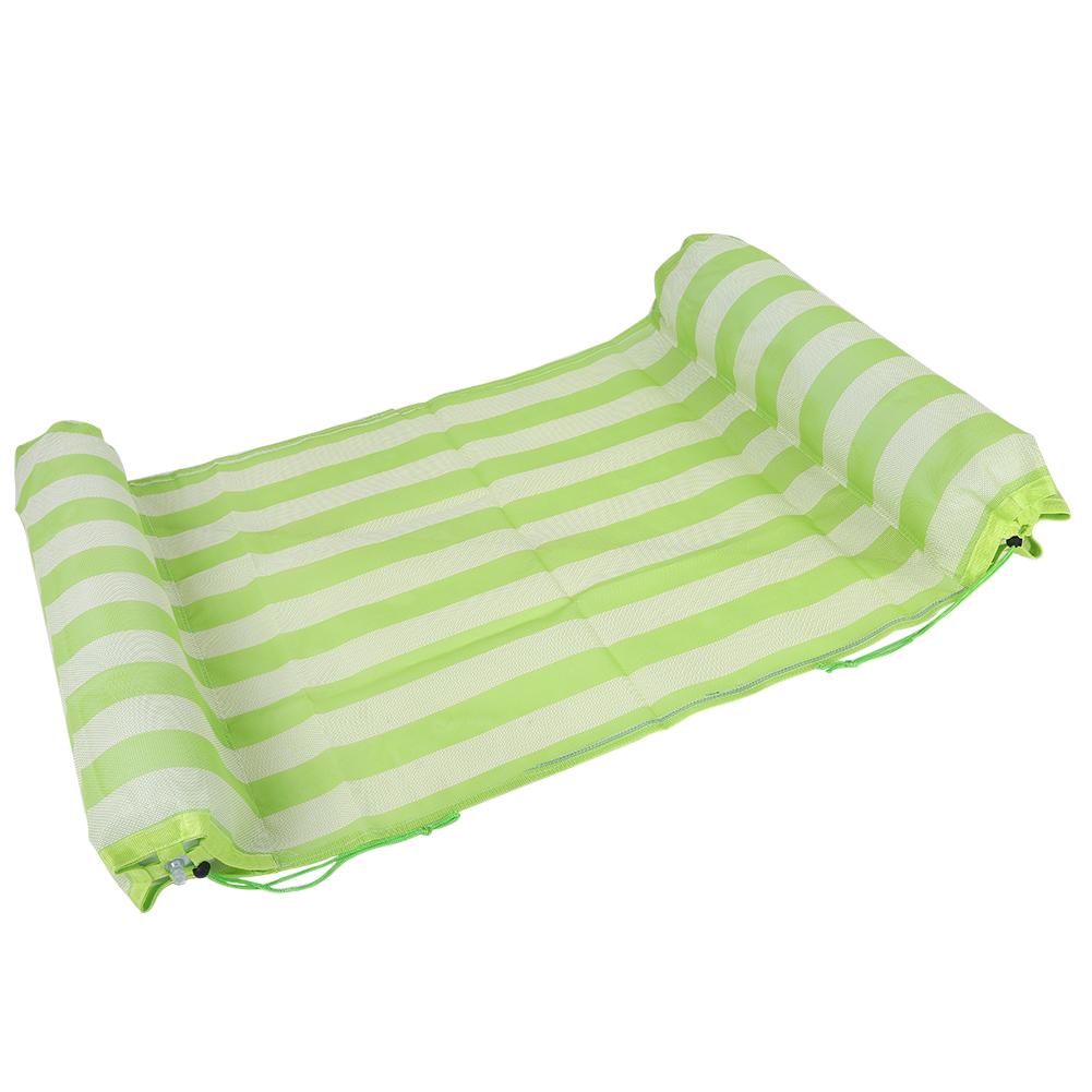 matelas coussin gonflable flotteur lit de piscine plage 3 couleurs