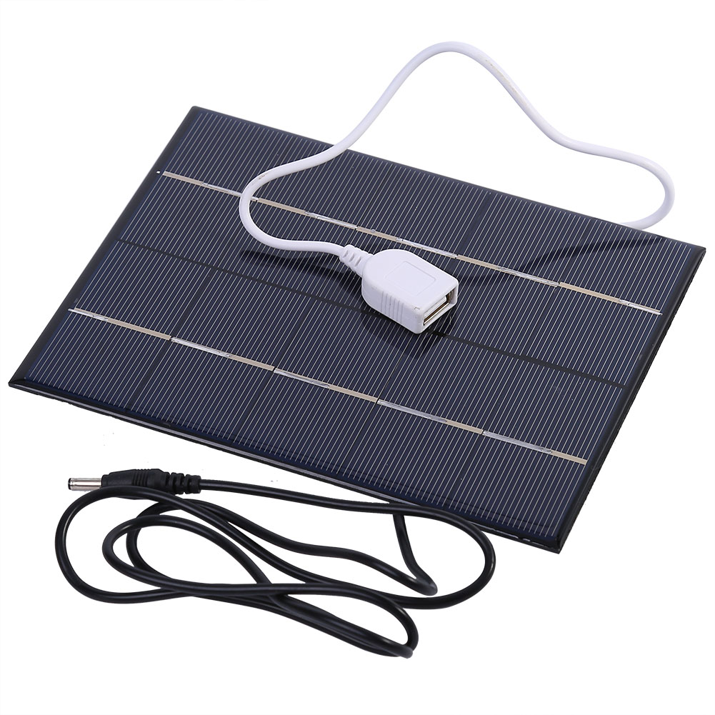 Portable Travel 5v 3 5w Usb Solar Panel Charger For Power