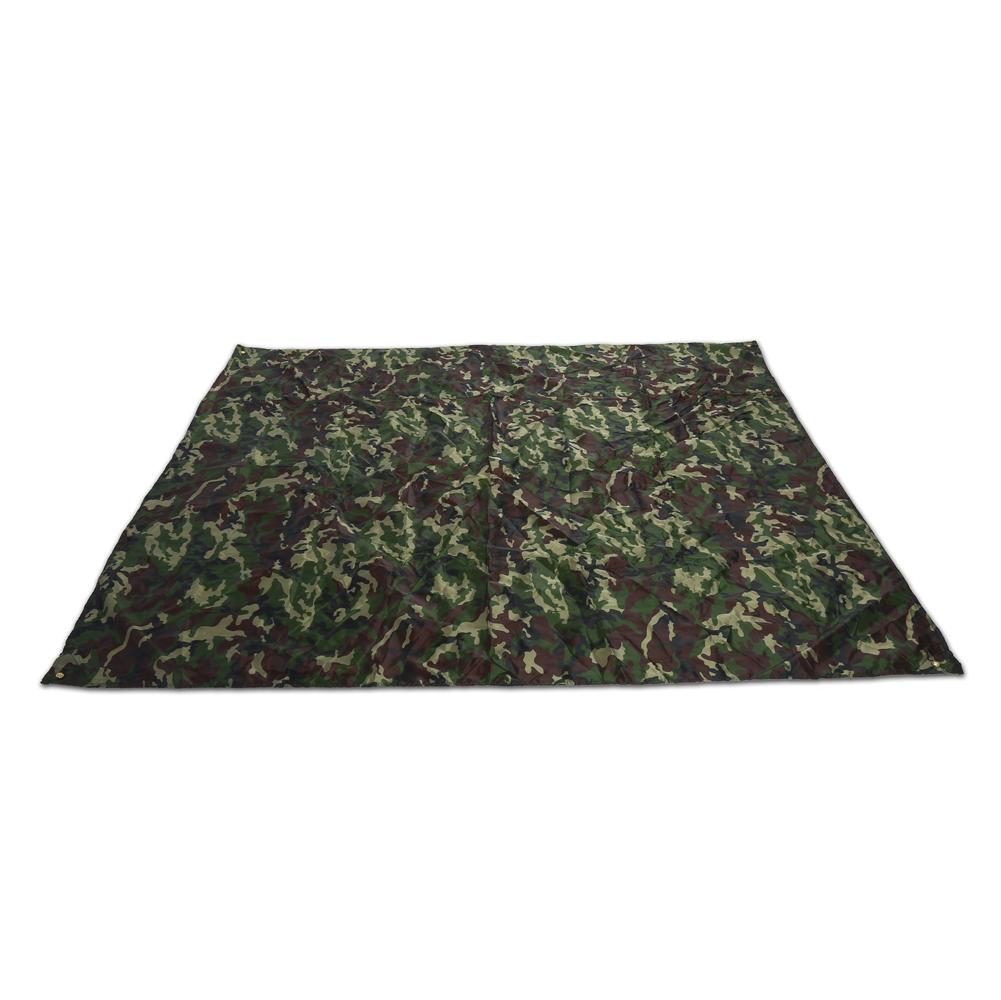 Portable-Bache-Anti-pluie-Anti-UV-Toile-de-Tente-Tarp-Abri-Camping-Camo miniature 12