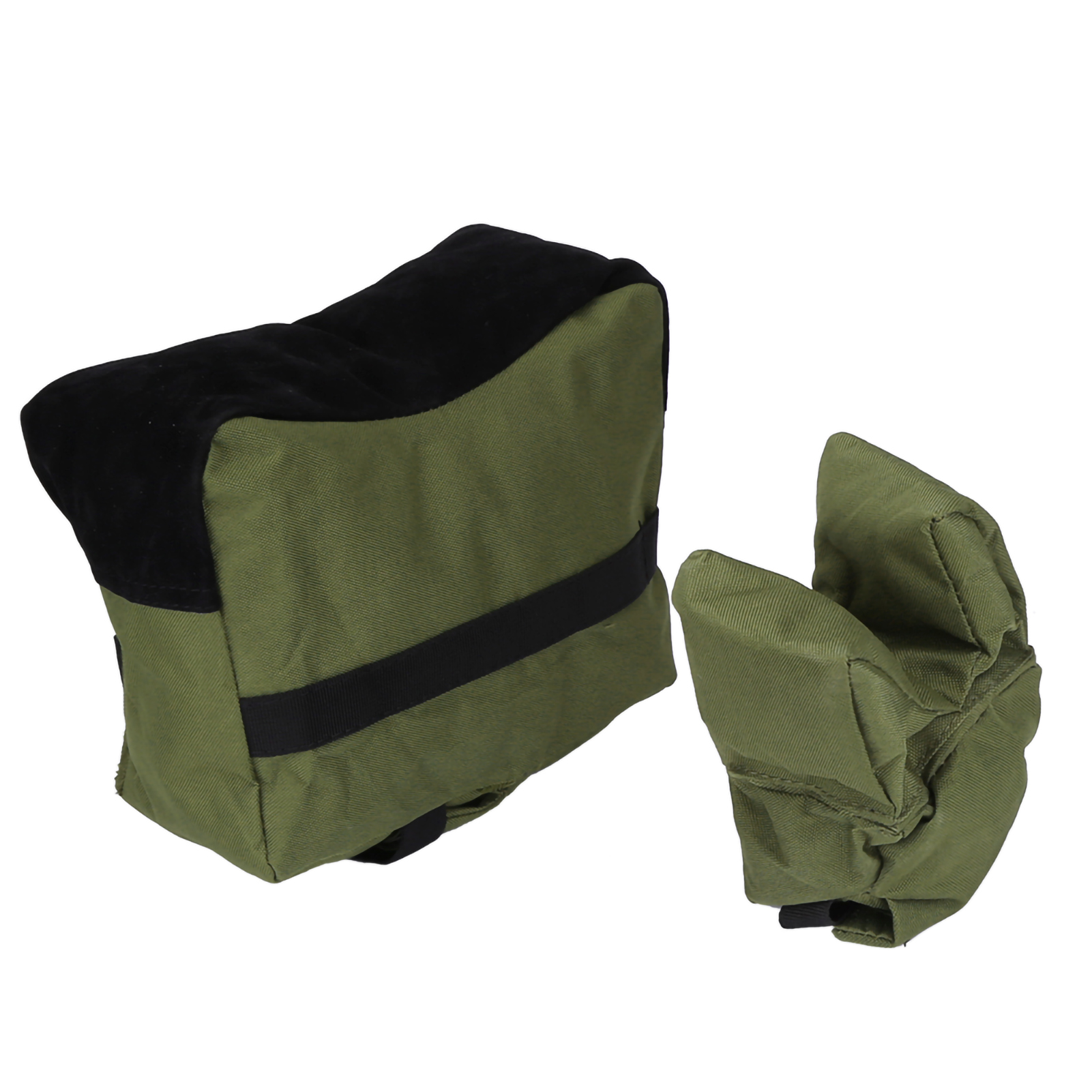 Portable Shooting Range Rifle Rest Front Rear Support Bag