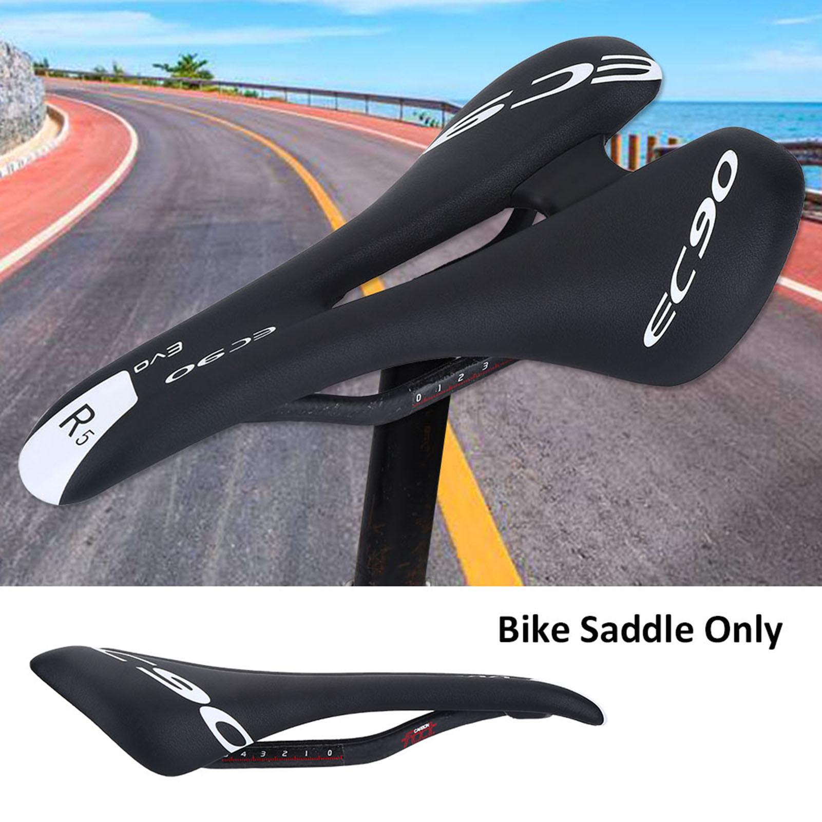 Ultra-ligero-Asiento-Sillin-Montana-Bicicleta-Deporte-Carratera-Fibra-Reemplazo