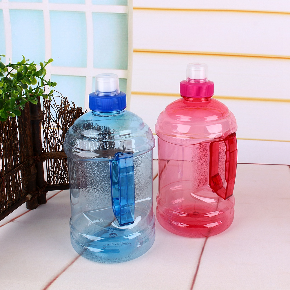 1L/2L Big Large BPA Drink Water Bottle Cap Kettle PET ...