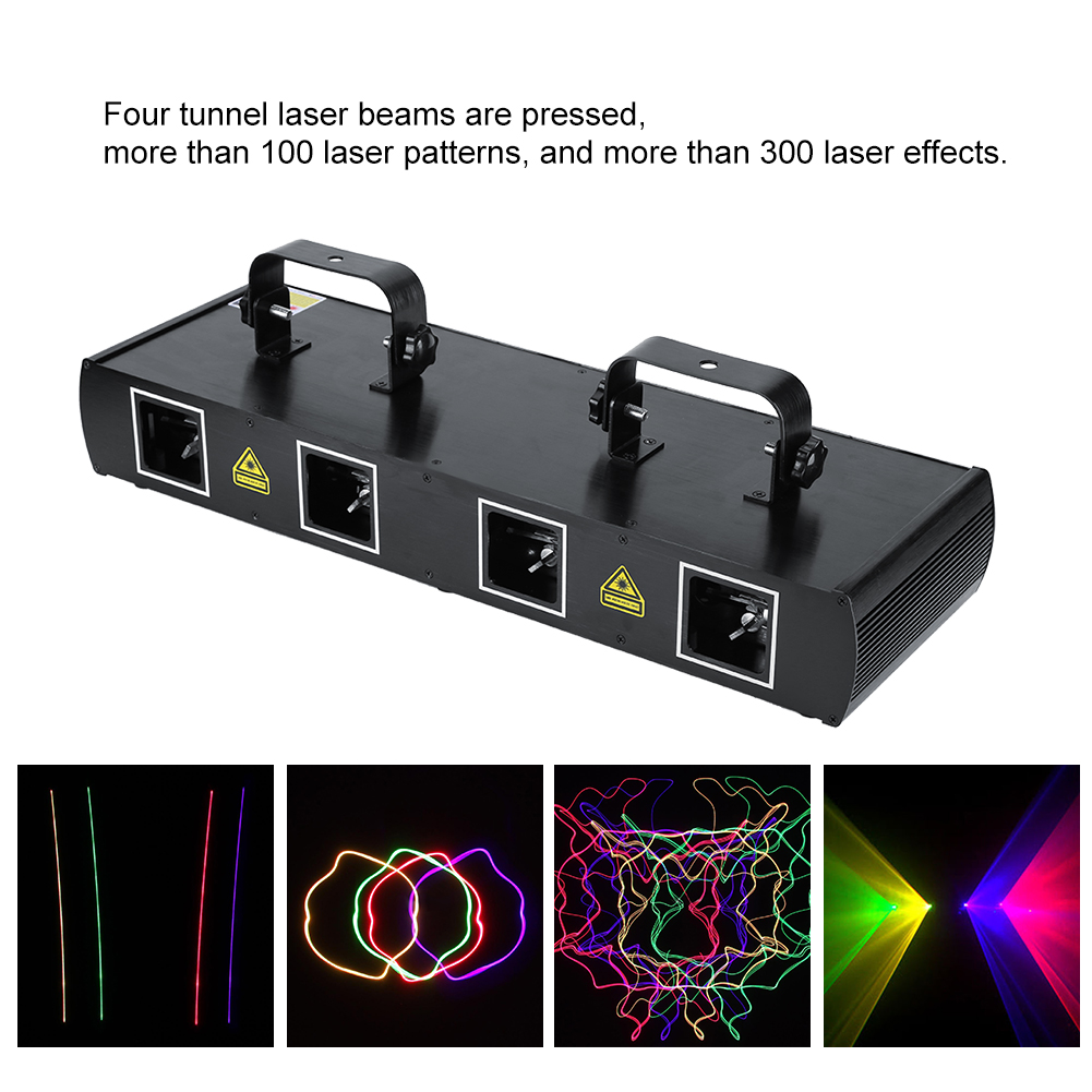 led lumi re laser projecteur jeu de lumi re stage pour disco club bar eclairage ebay. Black Bedroom Furniture Sets. Home Design Ideas
