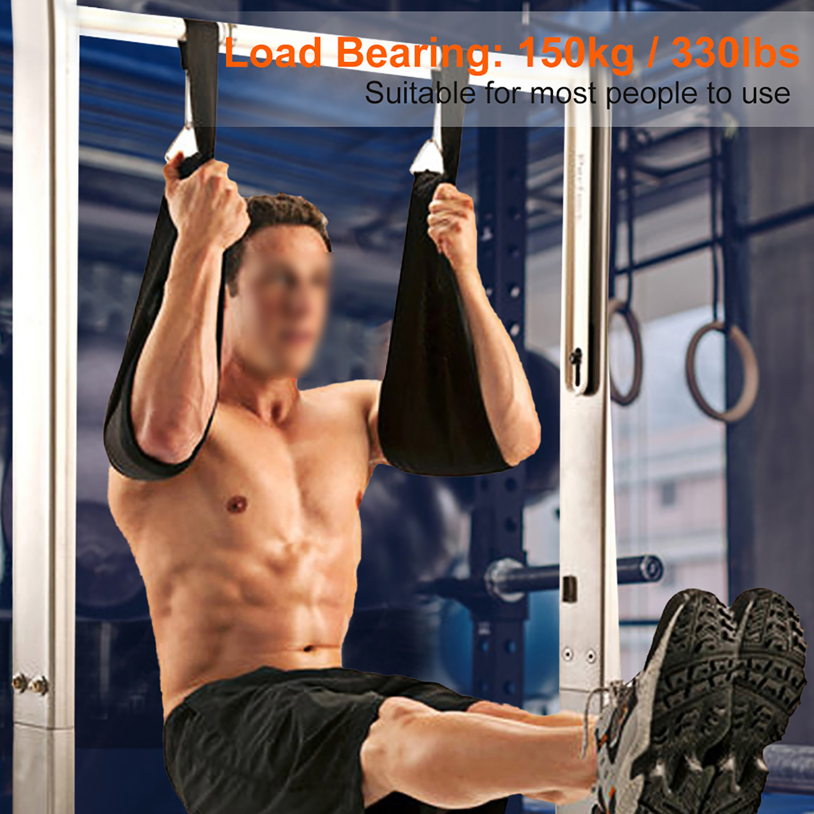 Home-Gym-Cable-Attachment-Exercise-Machine-Tricep-Rope-V-Pull-Up-Bar-D-Handle-US thumbnail 21