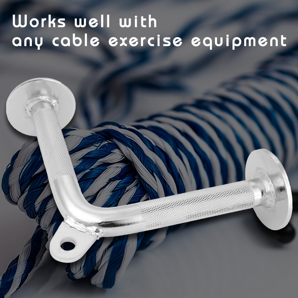 Home-Gym-Cable-Attachment-Exercise-Machine-Tricep-Rope-V-Pull-Up-Bar-D-Handle-US thumbnail 66