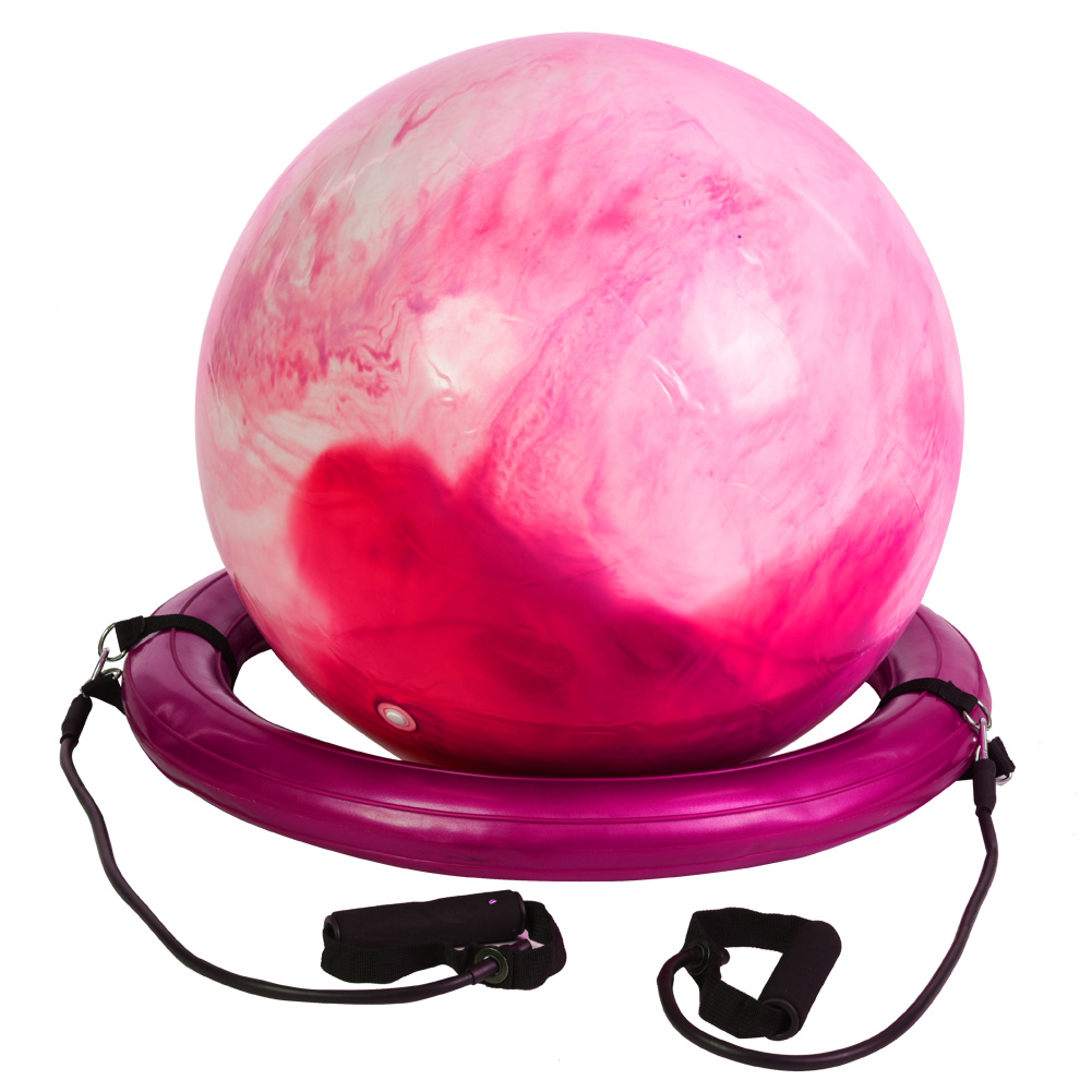 Anti-burst-Fitness-Gym-Yoga-Balance-Strength-Stability-Exercise-Ball-Air-Pump thumbnail 14