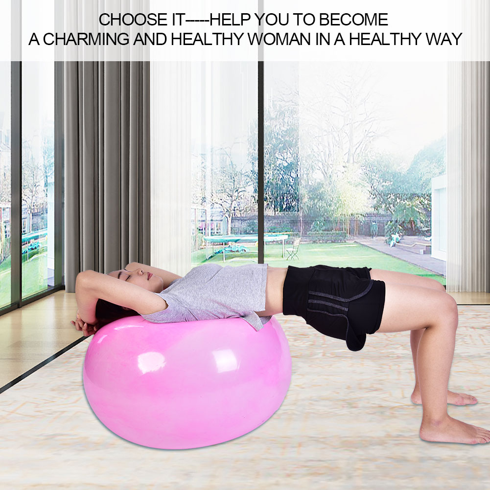 Anti-burst-Fitness-Gym-Yoga-Balance-Strength-Stability-Exercise-Ball-Air-Pump thumbnail 20