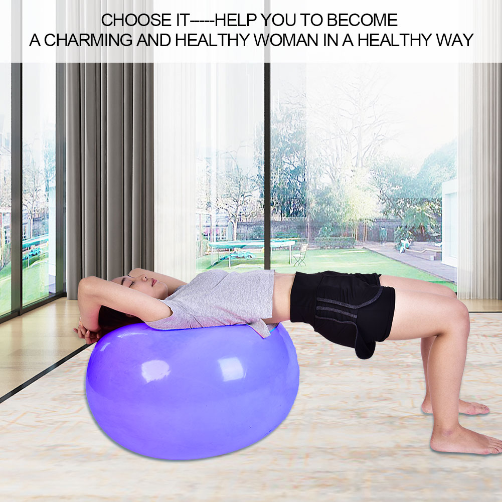 Anti-burst-Fitness-Gym-Yoga-Balance-Strength-Stability-Exercise-Ball-Air-Pump thumbnail 26