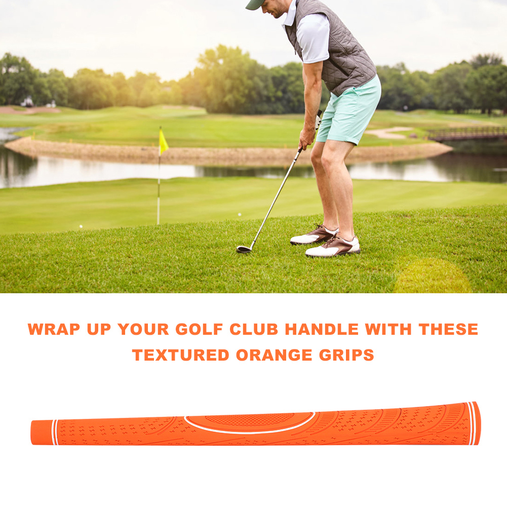 NEW-13pcs-set-Standard-Golf-Club-Grip-Soft-Rubber-Handle-Cover-Replacement-USA thumbnail 36