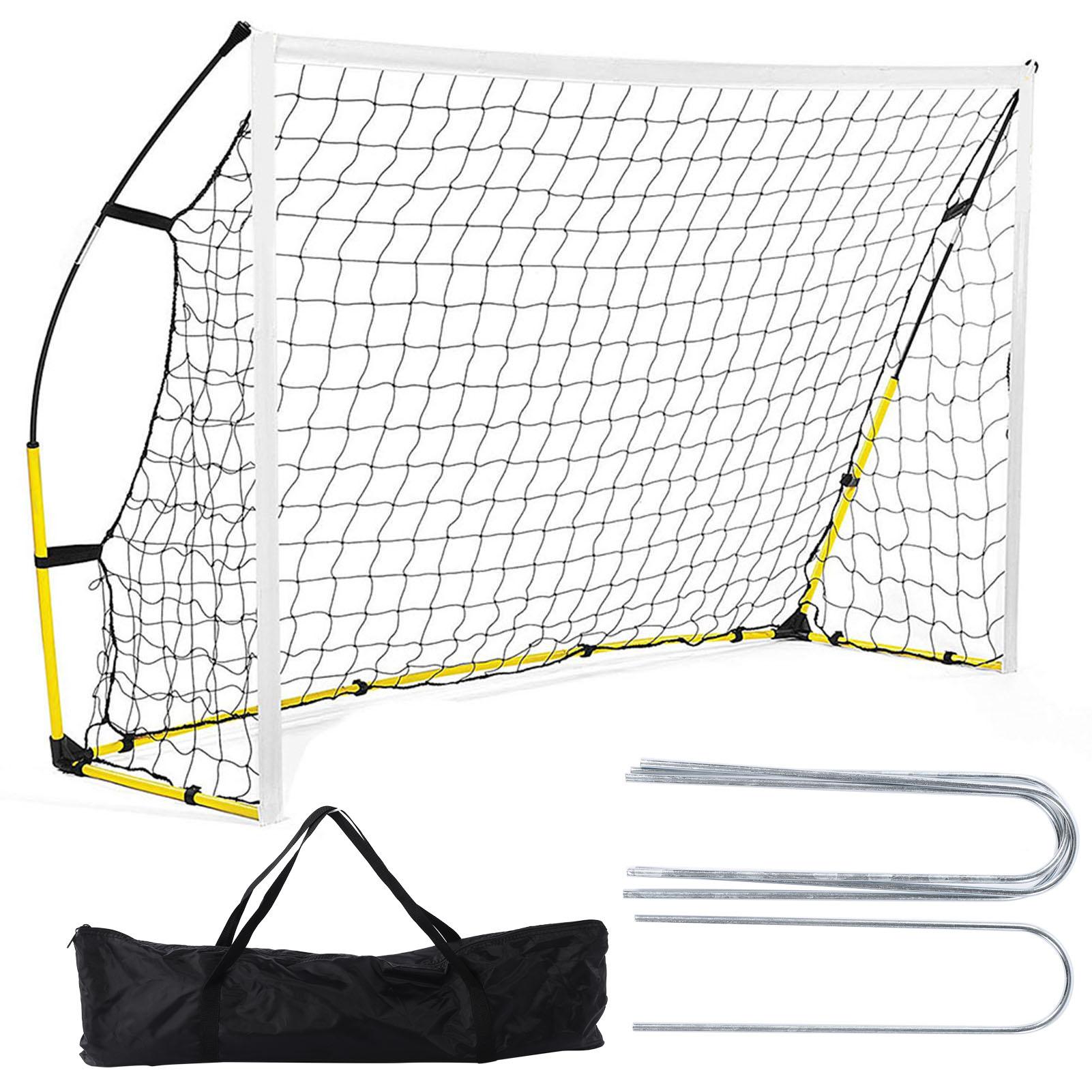 6x4//8x5//12x6ft Football Soccer Goal Post Net For Outdoor Football Match Training