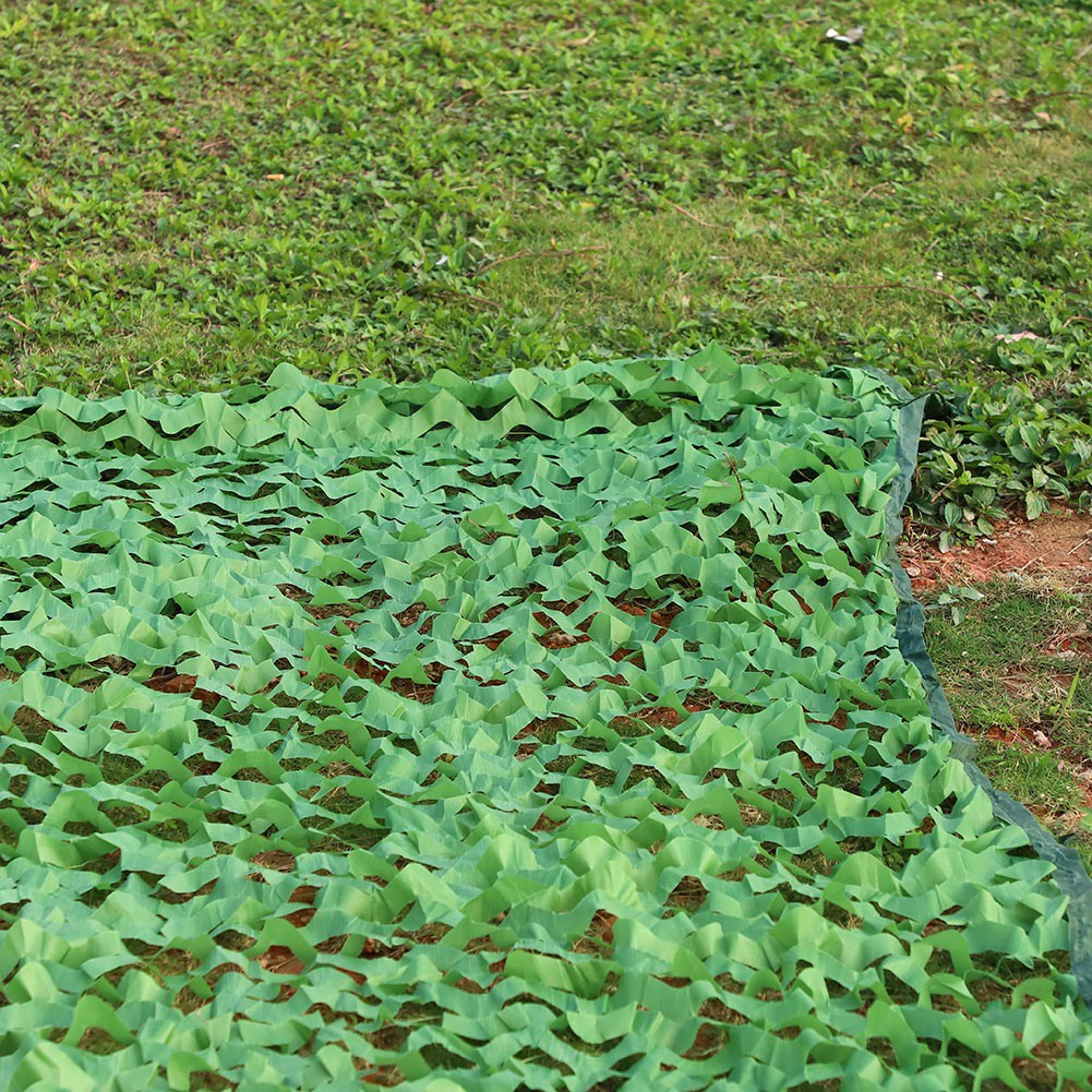 Woodland-Camouflage-Camo-Military-Net-Hide-Netting-Cover-Camping-Hunting-Shelter thumbnail 16