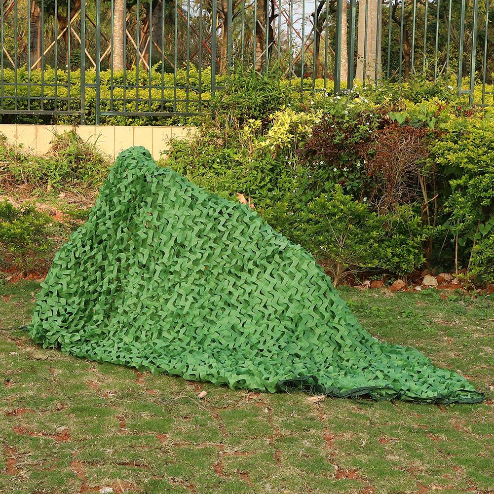 Woodland-Camouflage-Camo-Military-Net-Hide-Netting-Cover-Camping-Hunting-Shelter thumbnail 12