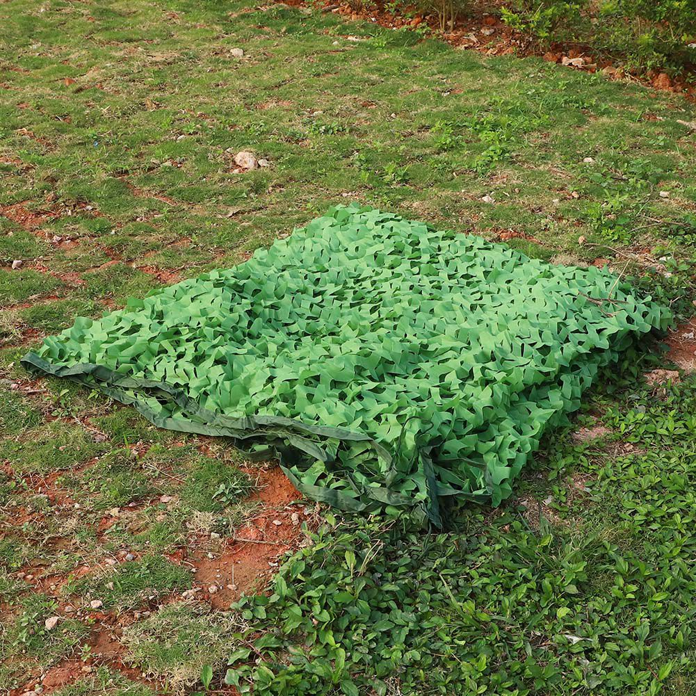 Woodland-Camouflage-Camo-Military-Net-Hide-Netting-Cover-Camping-Hunting-Shelter thumbnail 14