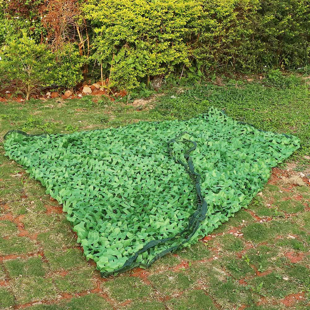 Woodland-Camouflage-Camo-Military-Net-Hide-Netting-Cover-Camping-Hunting-Shelter thumbnail 15