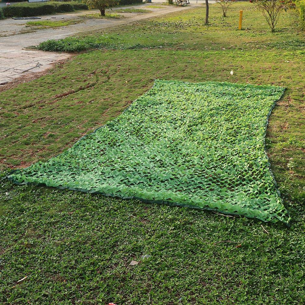 Woodland-Camouflage-Camo-Military-Net-Hide-Netting-Cover-Camping-Hunting-Shelter thumbnail 17