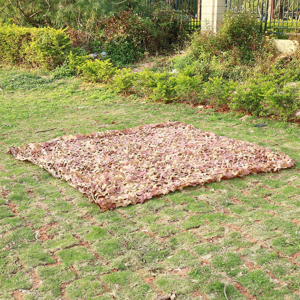 Woodland-Camouflage-Camo-Military-Net-Hide-Netting-Cover-Camping-Hunting-Shelter thumbnail 23
