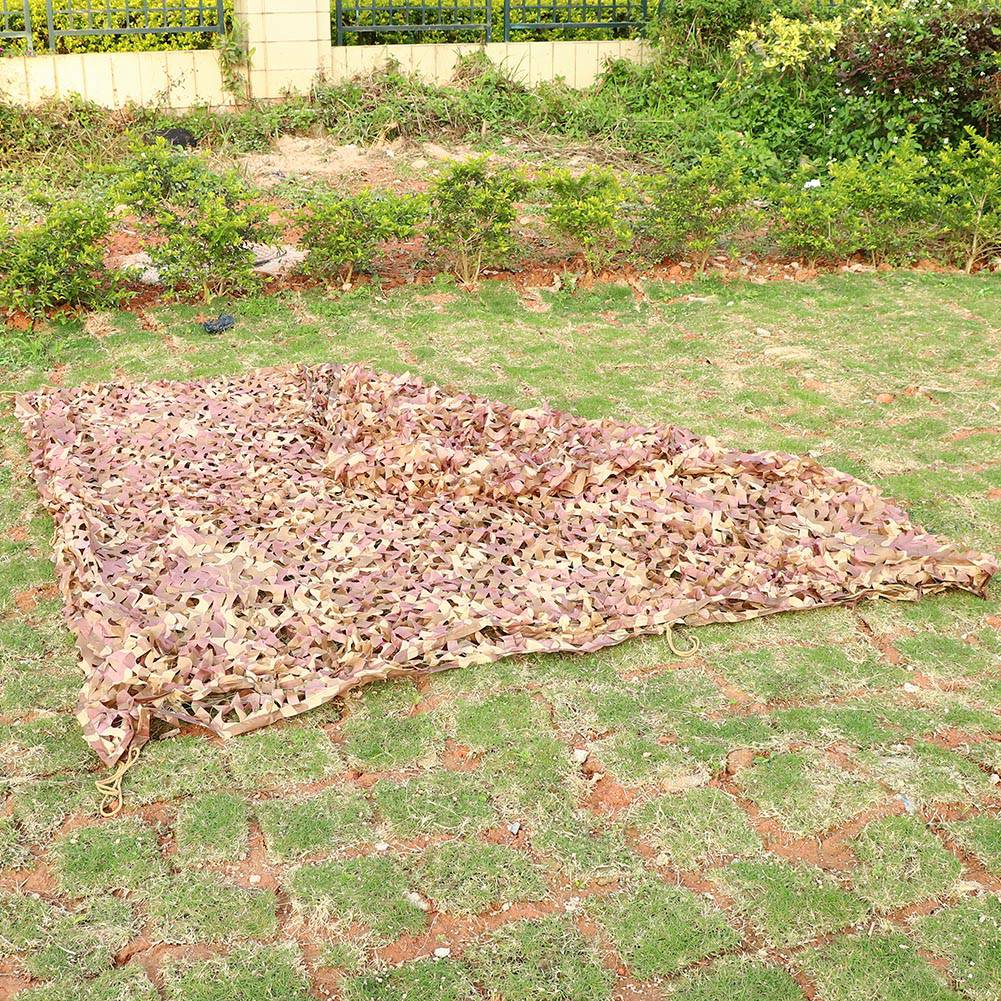 Woodland-Camouflage-Camo-Military-Net-Hide-Netting-Cover-Camping-Hunting-Shelter thumbnail 25