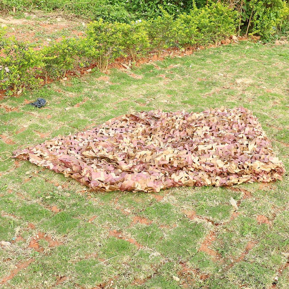 Woodland-Camouflage-Camo-Military-Net-Hide-Netting-Cover-Camping-Hunting-Shelter thumbnail 134