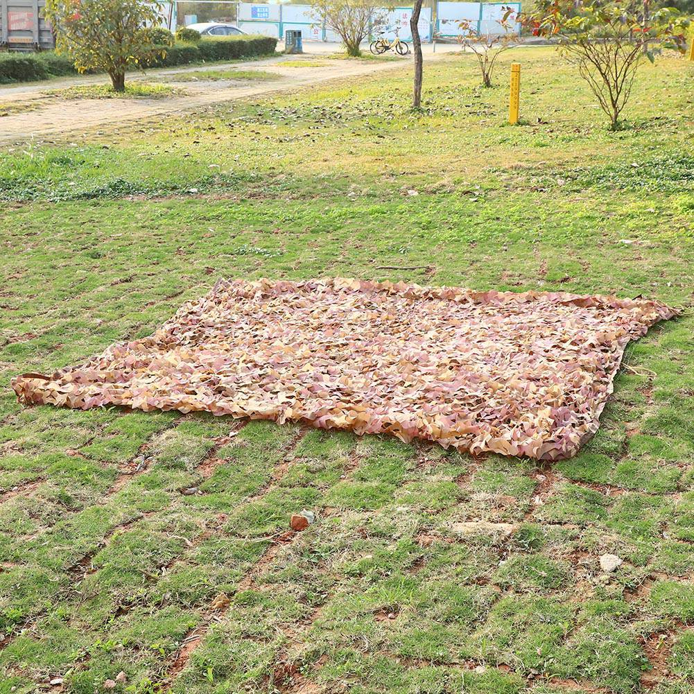 Woodland-Camouflage-Camo-Military-Net-Hide-Netting-Cover-Camping-Hunting-Shelter thumbnail 130