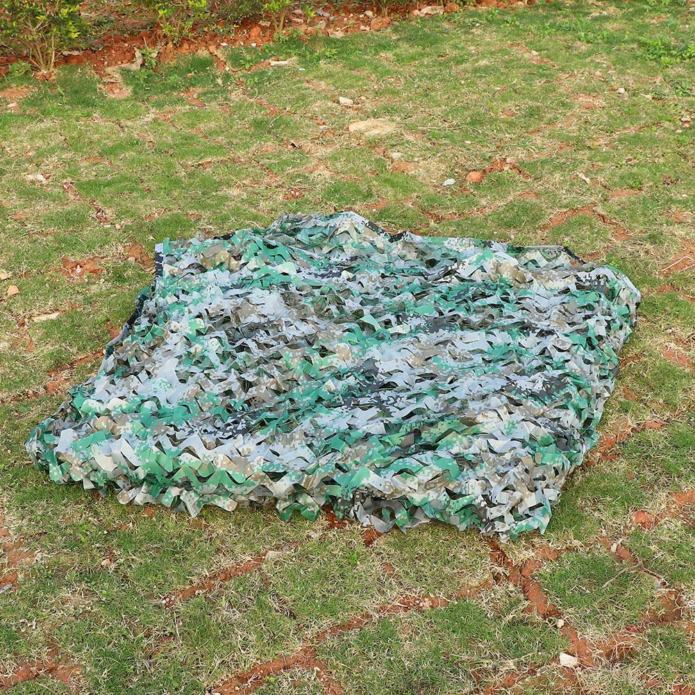 Woodland-Camouflage-Camo-Military-Net-Hide-Netting-Cover-Camping-Hunting-Shelter thumbnail 74