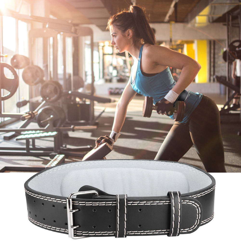 Met-X Weight Lifting Gym Fitness Belts Back Support Light Weight Neoprene Silver