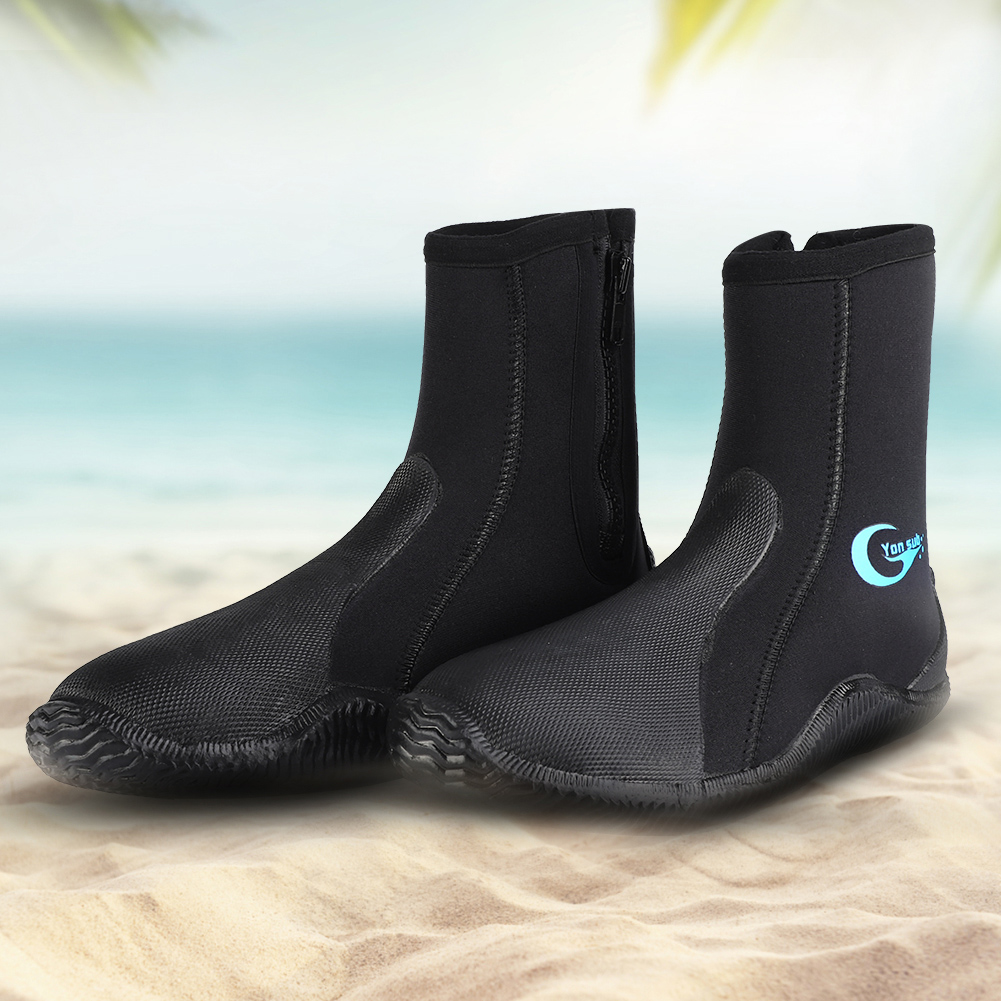 1-Pair-5mm-Adult-Neoprene-Warm-Diving-Boots-Scuba-Surfing-Snorkeling-Swim-Socks thumbnail 13