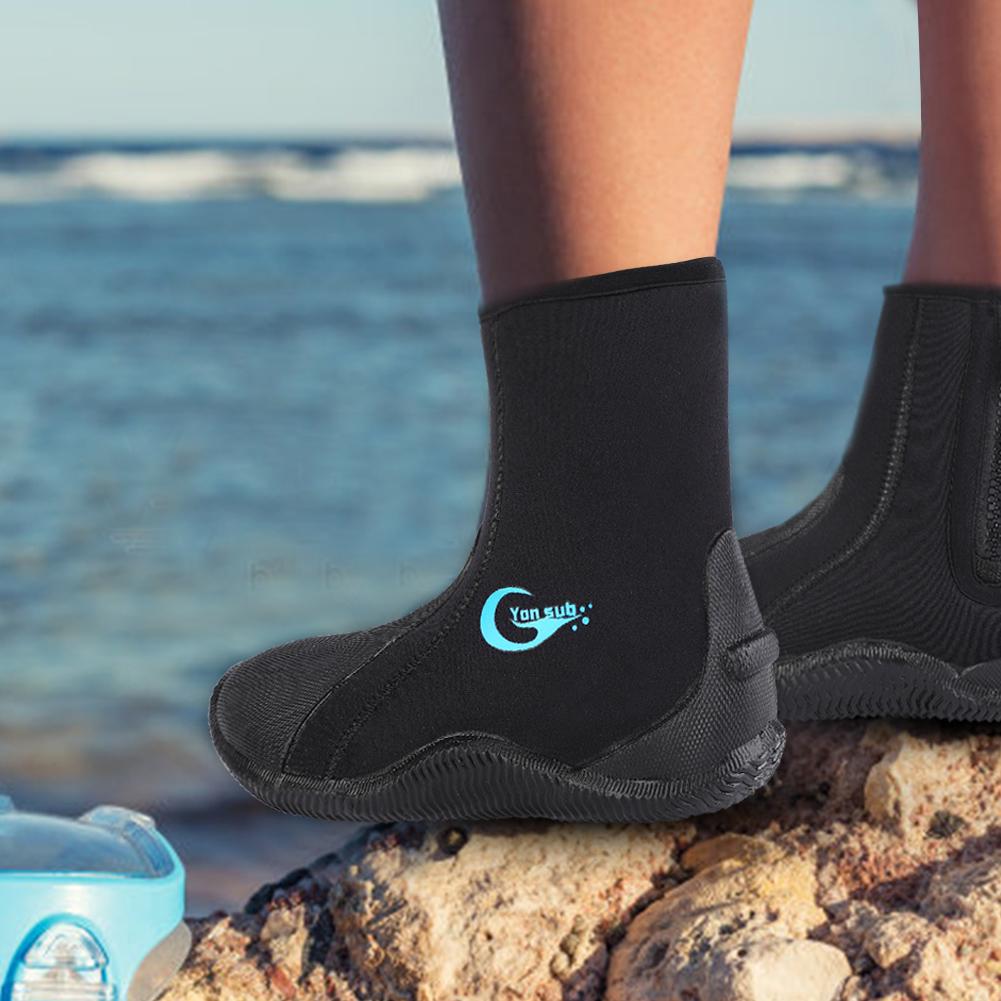 1-Pair-5mm-Adult-Neoprene-Warm-Diving-Boots-Scuba-Surfing-Snorkeling-Swim-Socks thumbnail 12