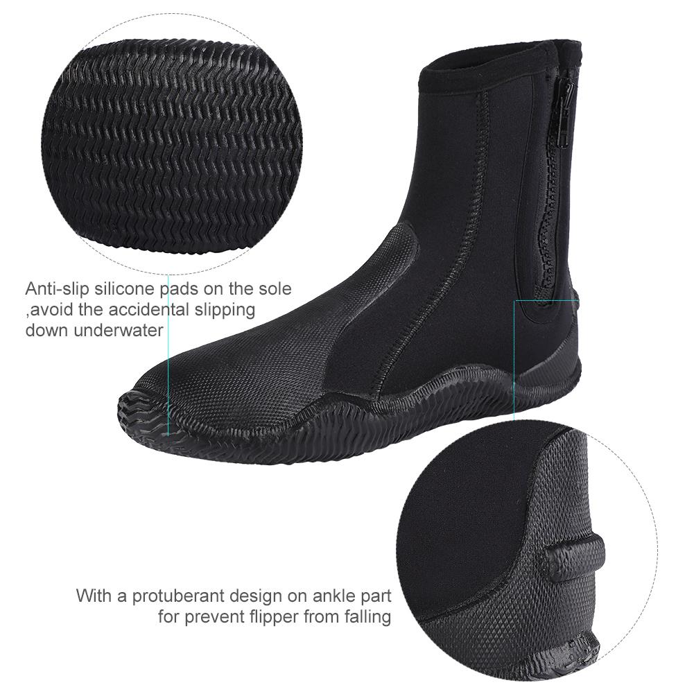 1-Pair-5mm-Adult-Neoprene-Warm-Diving-Boots-Scuba-Surfing-Snorkeling-Swim-Socks thumbnail 14
