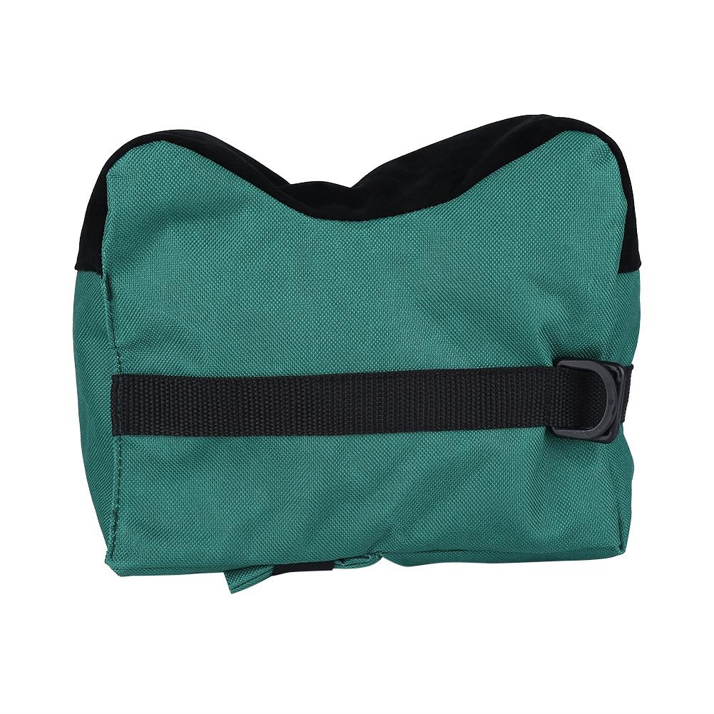 Front /& Rear Unfilled Shooting Rest Bag Shooters Shooting Bench Sandbag Sand Bag