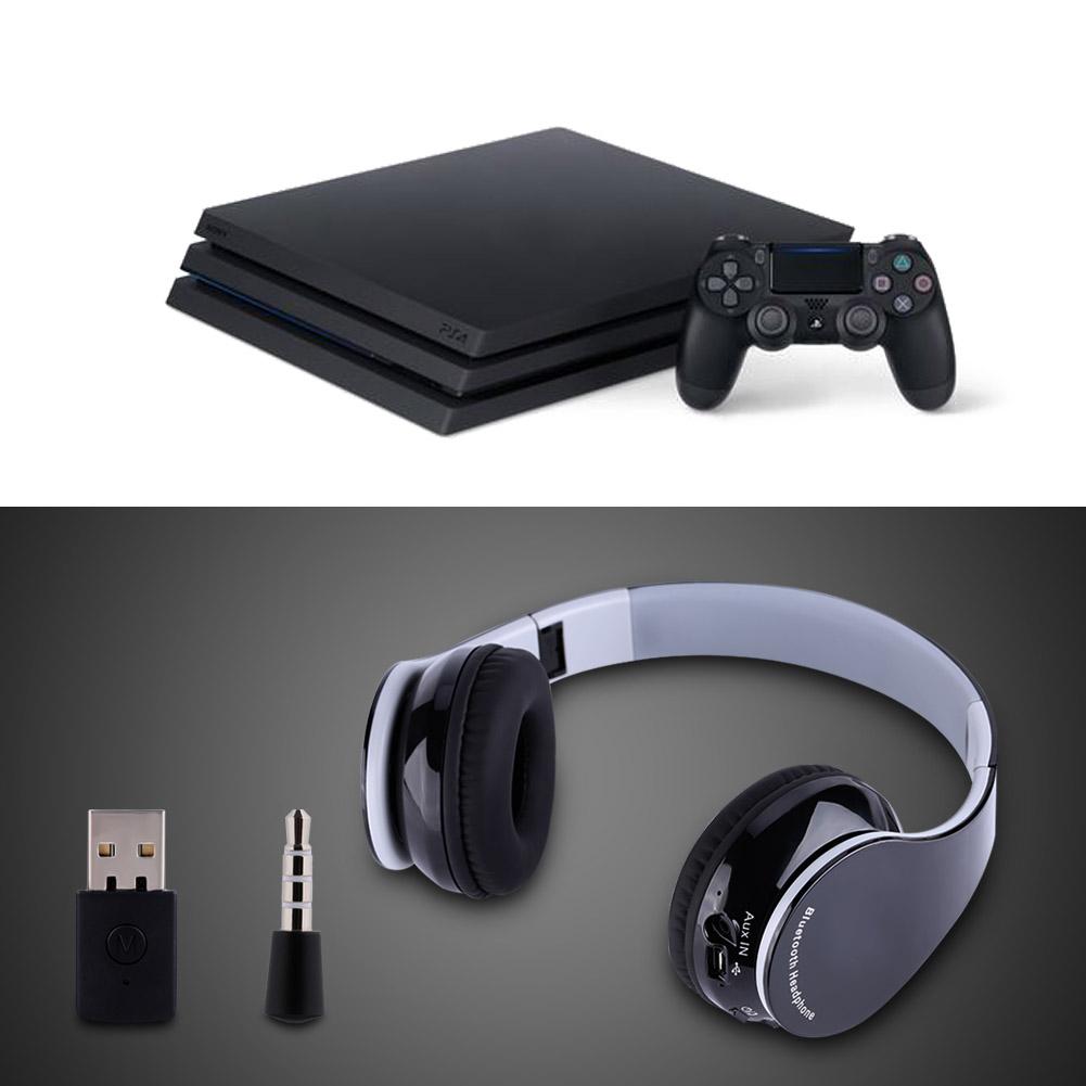 faltbar bluetooth4 1 drahtloses headset spiel kopfh rer. Black Bedroom Furniture Sets. Home Design Ideas