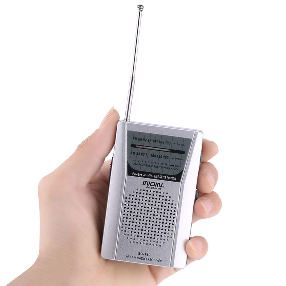 portable pocket am fm dual brand lcd digital radio. Black Bedroom Furniture Sets. Home Design Ideas