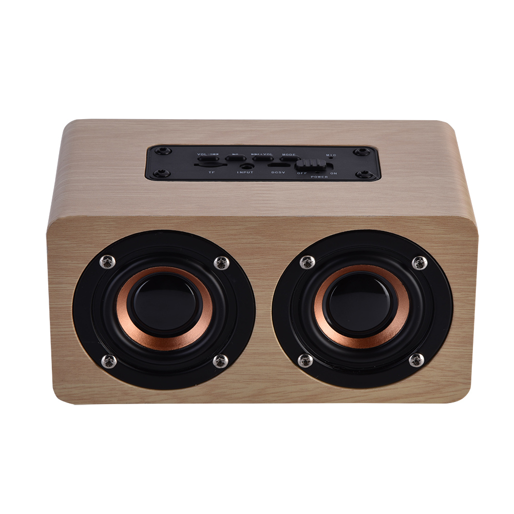 Wooden-4-2-Bluetooth-Wireless-Speaker-3D-Surround-Stereo-Dual-Loudspeaker-AUX-TF