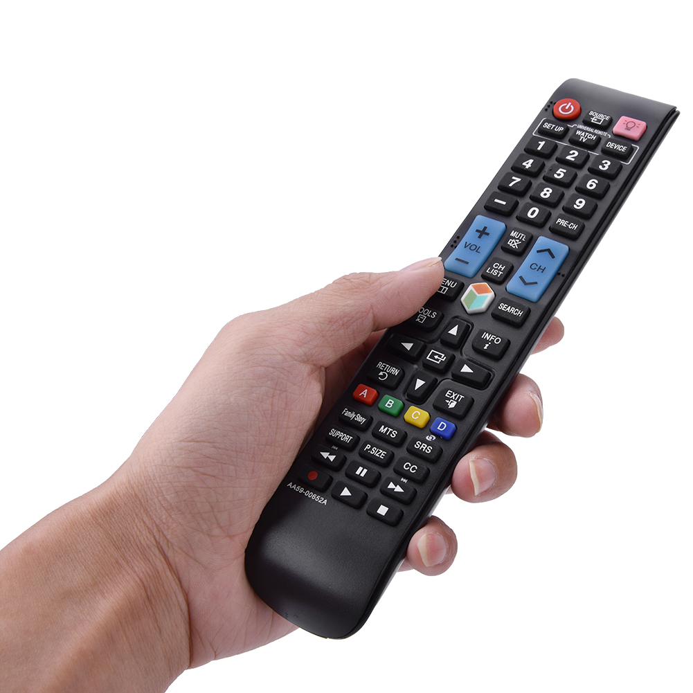 universal smart tv remote control for samsung aa59 00652a backlit buttons mf ebay. Black Bedroom Furniture Sets. Home Design Ideas