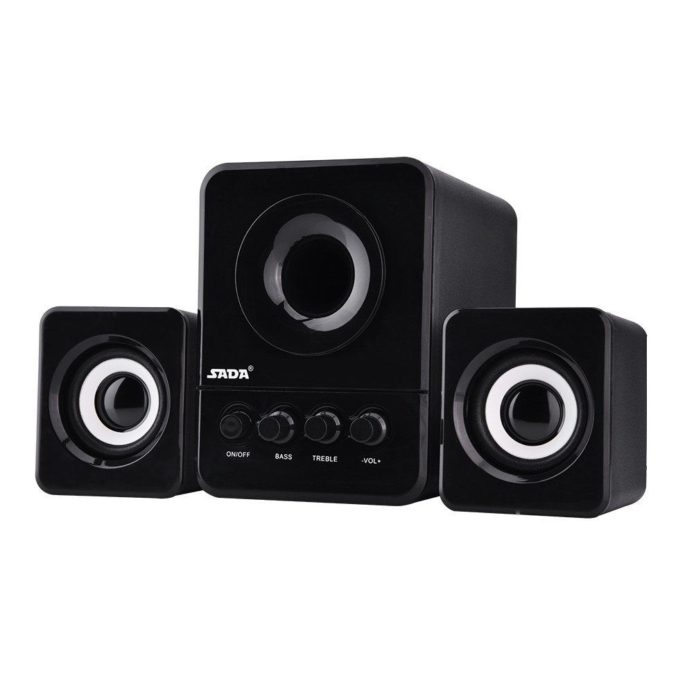 SADA-USB2-1-Wired-Combination-Speaker-Bass-Music-Player-Subwoofer-for-Laptop-PC thumbnail 6