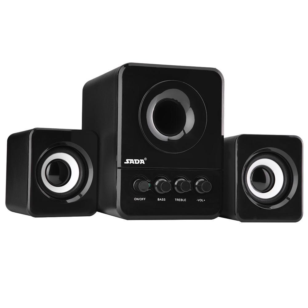 SADA-USB2-1-Wired-Combination-Speaker-Bass-Music-Player-Subwoofer-for-Laptop-PC thumbnail 7